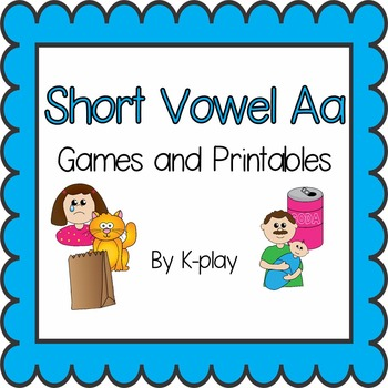 Phonics Short Vowel Aa - Games and Printables