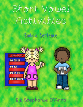 Short Vowel Build a Sentence-Differentiated