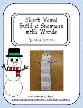 Short Vowel Build a Snowman with Words
