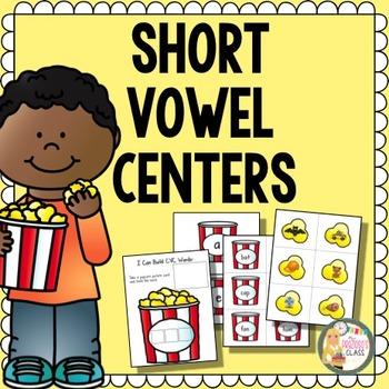 Short Vowel Centers   CVC Centers