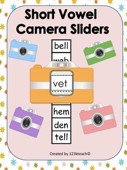 Short Vowels Camera Sliders