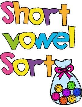 Short Vowel Candy Sort
