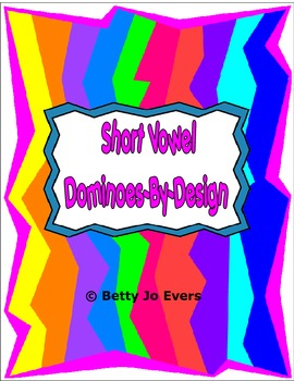 Short Vowel Dominoes-By-Design