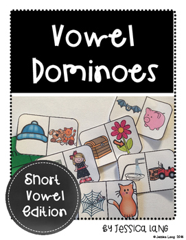 Short Vowel Dominoes Set