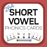 Short Vowel Drill Cards with Visual Blending Support