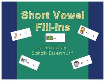 Short Vowel Fill-Ins