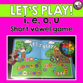 Short Vowel Game-e,i,o,u