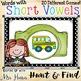 Short Vowel Hunt & Find PowerPoint Game - BUNDLE