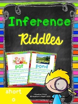 Short Vowel Inference Riddles: Short O