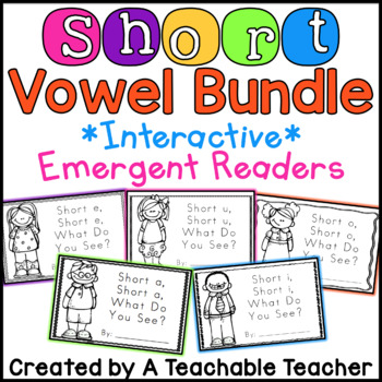 Short Vowel Readers Bundle