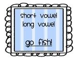 Short Vowel Long Vowel Go Fish