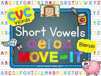 Short Vowel MOVE IT - The Bundle!