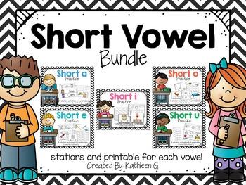 Short Vowel Pack Bundle