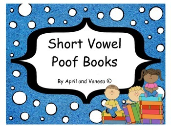 Short Vowel Poof Books - Set of 5 Different Stories