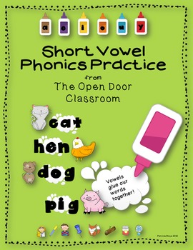 Short Vowel Practice Packet