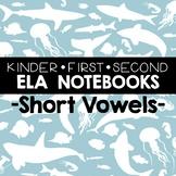 Short Vowel Printables for Notebooks