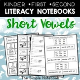 Short Vowel Printables for Notebooks