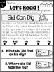 Short Vowel Readers: Reading Comprehension and Text Eviden