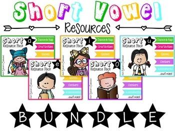 Short Vowel Resources {BUNDLE}