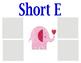 Short Vowel Sort Center Activity
