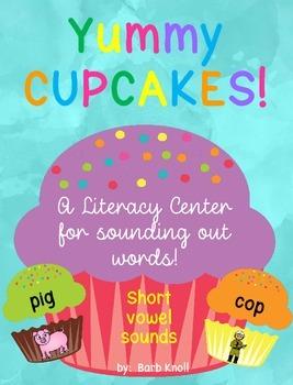 Short Vowel Sound Game: Yummy Cupcakes!
