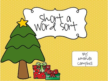 Short Vowel Sound Word Sort Growing Bundle