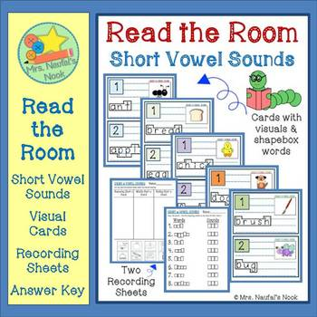 Short Vowel Sounds Read the Room