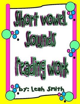 Short Vowel Sounds Reading