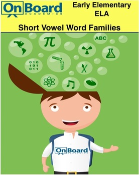 Short Vowel Word Families-Interactive Lesson