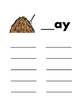 Long Vowel Word Families: Word Work Mats, Centers:  23 pg