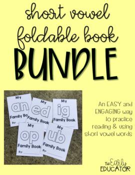 Short Vowel Word Family Book BUNDLE