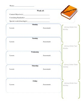 First Grade Lesson Plan Guide