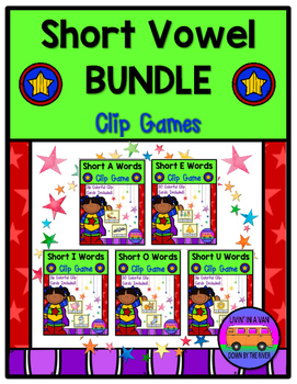 SHORT VOWELS - BUNDLE!!