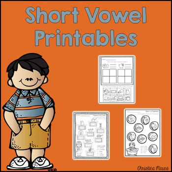 Short Vowel Printables