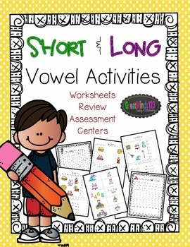 Short and Long Vowel Activities