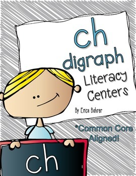 ch Digraph Literacy Centers