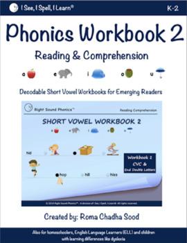 Short Vowel eWorkbook 2 - by Right Sound Phonics™