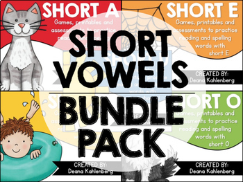 Short Vowels {Bundle Pack}