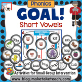 Short Vowels - Goal! Hockey Themed Activity