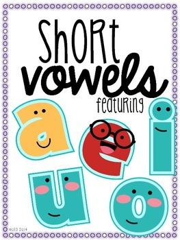 Short Vowels Talk Too! {Word Work for Short Vowels}