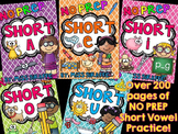 Short Vowels Activities and Worksheets No Prep BUNDLE