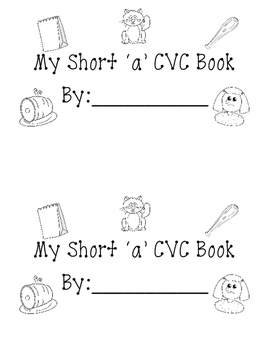 Short a leveled CVC book