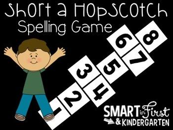 Short a Hopscotch Spelling Game