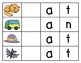 Short /a/ Initial Sound Word Builder Cards with 16 BONUS V