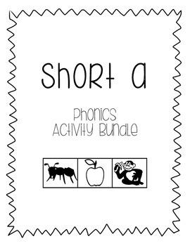 Short a Phonics Activity Bundle