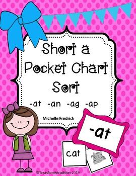 Short a Pocket Chart Sort