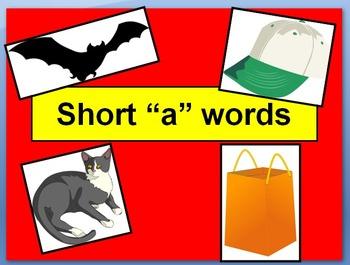 """Short """"a"""" PowerPoint"""