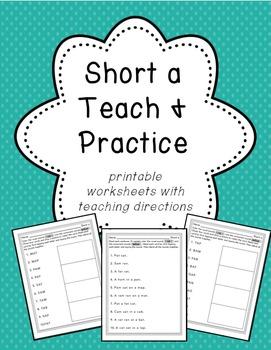 Short a Teach and Practice