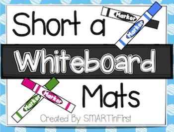 Short a Whiteboard Mats