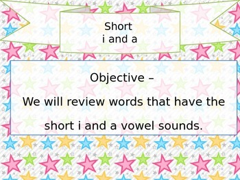 Short a and i Review